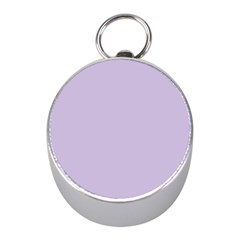 Pastel Color   Light Violetish Gray Mini Silver Compasses by tarastyle