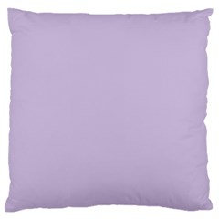 Pastel Color   Light Violetish Gray Standard Flano Cushion Case (two Sides) by tarastyle