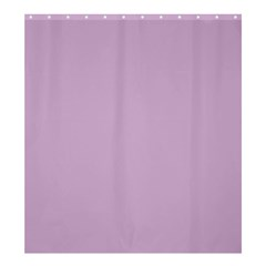 Pastel Color   Magentaish Gray Shower Curtain 66  X 72  (large)  by tarastyle