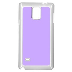 Pastel Color   Pale Blue Violet Samsung Galaxy Note 4 Case (white) by tarastyle
