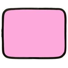 Pastel Color   Pale Cerise Netbook Case (large) by tarastyle