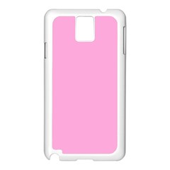 Pastel Color   Pale Cerise Samsung Galaxy Note 3 N9005 Case (white) by tarastyle