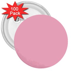 Pastel Color   Pale Crimson 3  Buttons (100 Pack)  by tarastyle