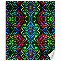 Glittering Kaleidoscope Mosaic Pattern Canvas 20  X 24   by Costasonlineshop