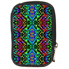 Glittering Kaleidoscope Mosaic Pattern Compact Camera Cases