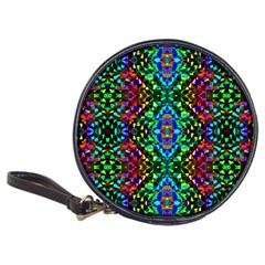Glittering Kaleidoscope Mosaic Pattern Classic 20 Cd Wallets by Costasonlineshop