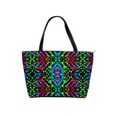 Glittering Kaleidoscope Mosaic Pattern Shoulder Handbags by Costasonlineshop