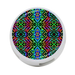 Glittering Kaleidoscope Mosaic Pattern 4 Port Usb Hub (two Sides)  by Costasonlineshop