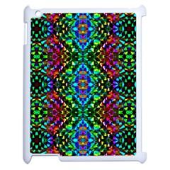 Glittering Kaleidoscope Mosaic Pattern Apple Ipad 2 Case (white) by Costasonlineshop