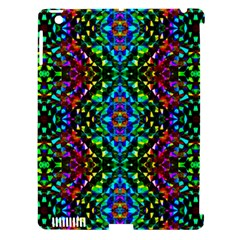 Glittering Kaleidoscope Mosaic Pattern Apple Ipad 3/4 Hardshell Case (compatible With Smart Cover) by Costasonlineshop