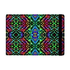 Glittering Kaleidoscope Mosaic Pattern Apple Ipad Mini Flip Case by Costasonlineshop