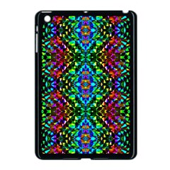 Glittering Kaleidoscope Mosaic Pattern Apple Ipad Mini Case (black) by Costasonlineshop