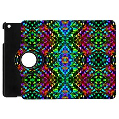 Glittering Kaleidoscope Mosaic Pattern Apple Ipad Mini Flip 360 Case by Costasonlineshop