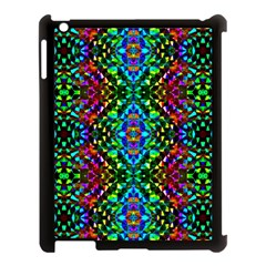 Glittering Kaleidoscope Mosaic Pattern Apple Ipad 3/4 Case (black) by Costasonlineshop
