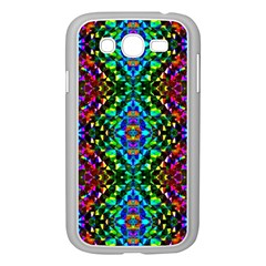 Glittering Kaleidoscope Mosaic Pattern Samsung Galaxy Grand Duos I9082 Case (white) by Costasonlineshop