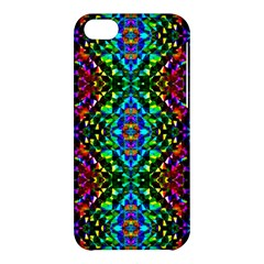 Glittering Kaleidoscope Mosaic Pattern Apple Iphone 5c Hardshell Case by Costasonlineshop