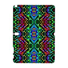Glittering Kaleidoscope Mosaic Pattern Galaxy Note 1 by Costasonlineshop