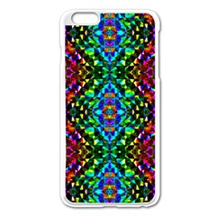 Glittering Kaleidoscope Mosaic Pattern Apple Iphone 6 Plus/6s Plus Enamel White Case by Costasonlineshop