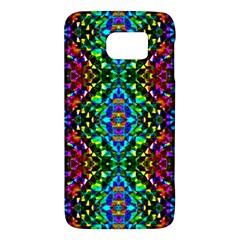 Glittering Kaleidoscope Mosaic Pattern Galaxy S6 by Costasonlineshop
