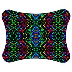 Glittering Kaleidoscope Mosaic Pattern Jigsaw Puzzle Photo Stand (bow) by Costasonlineshop
