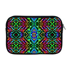 Glittering Kaleidoscope Mosaic Pattern Apple Macbook Pro 17  Zipper Case by Costasonlineshop