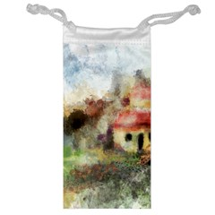 Old Spanish Village Jewelry Bag by theunrulyartist