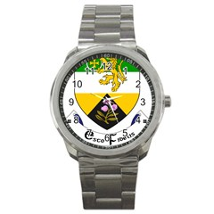 County Offaly Coat Of Arms  Sport Metal Watch by abbeyz71