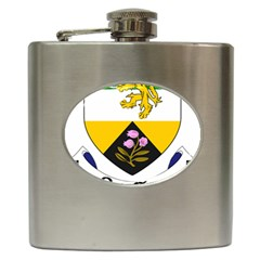 County Offaly Coat Of Arms  Hip Flask (6 Oz) by abbeyz71