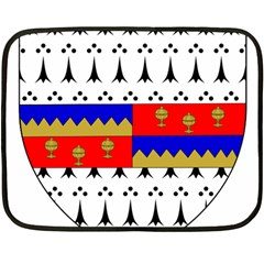 County Tipperary Coat Of Arms  Double Sided Fleece Blanket (mini)  by abbeyz71