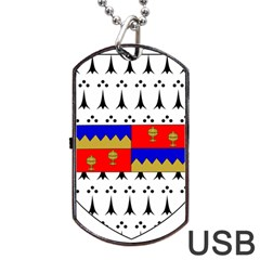 County Tipperary Coat Of Arms  Dog Tag Usb Flash (two Sides) by abbeyz71