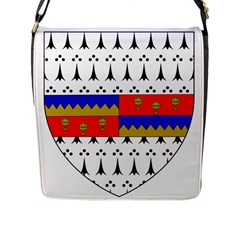 County Tipperary Coat Of Arms  Flap Messenger Bag (l)  by abbeyz71