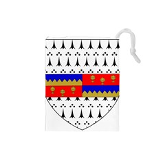 County Tipperary Coat Of Arms  Drawstring Pouches (small)  by abbeyz71