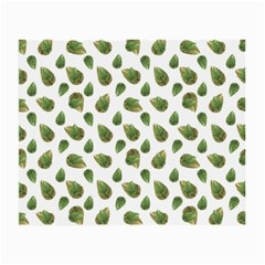 Leaves Motif Nature Pattern Small Glasses Cloth by dflcprints