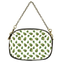 Leaves Motif Nature Pattern Chain Purses (one Side)  by dflcprints