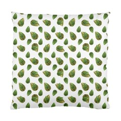 Leaves Motif Nature Pattern Standard Cushion Case (two Sides) by dflcprints
