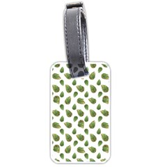 Leaves Motif Nature Pattern Luggage Tags (one Side)  by dflcprints