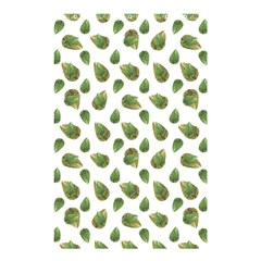 Leaves Motif Nature Pattern Shower Curtain 48  X 72  (small)  by dflcprints