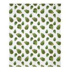 Leaves Motif Nature Pattern Shower Curtain 60  X 72  (medium)  by dflcprints