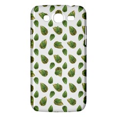 Leaves Motif Nature Pattern Samsung Galaxy Mega 5 8 I9152 Hardshell Case  by dflcprints