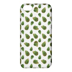 Leaves Motif Nature Pattern Apple Iphone 5c Hardshell Case by dflcprints