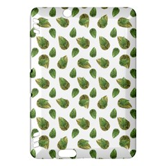 Leaves Motif Nature Pattern Kindle Fire Hdx Hardshell Case by dflcprints