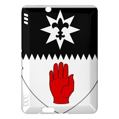 County Tyrone Coat Of Arms  Kindle Fire Hdx Hardshell Case by abbeyz71