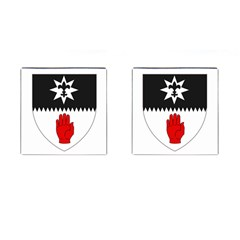 County Tyrone Coat Of Arms  Cufflinks (square) by abbeyz71