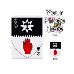 County Tyrone Coat Of Arms  Playing Cards 54 (mini)  by abbeyz71