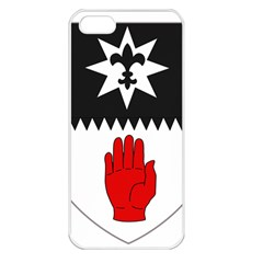 County Tyrone Coat Of Arms  Apple Iphone 5 Seamless Case (white) by abbeyz71