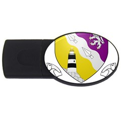 County Wexford Coat Of Arms  Usb Flash Drive Oval (2 Gb) by abbeyz71