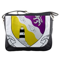 County Wexford Coat Of Arms  Messenger Bags by abbeyz71