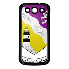 County Wexford Coat Of Arms  Samsung Galaxy S3 Back Case (black) by abbeyz71