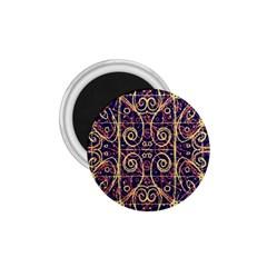 Tribal Ornate Pattern 1.75  Magnets