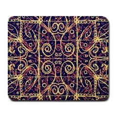 Tribal Ornate Pattern Large Mousepads